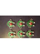 Зелена подкова с калинка- 5броя