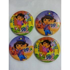Дора Изследователката- големи детски значки- 10броя