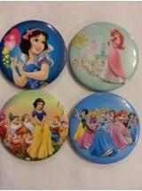 Принцеси- големи значки-10броя
