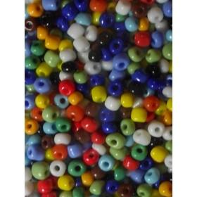 Стъклени мъниста- асорте-4мм-50грама