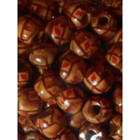 Дървени топки на линии- 12мм-50грама