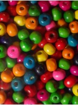 Шарени топчета- 6мм-50грама