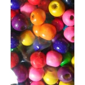 Шарени топчета- 8мм-50грама