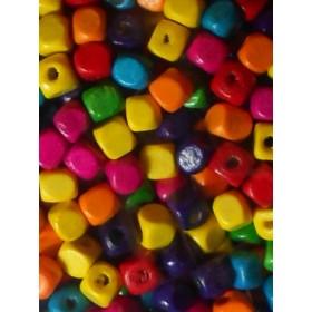 Шарени квадратчета- 8мм-50грама