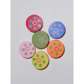 Шарени кръгчета- 15мм-20грама