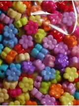 Цветни цветенца- 6мм-50грама