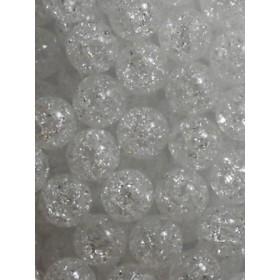 Бели топки тип лимка- 10мм-50грама