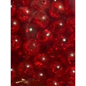 Червени топки тип лимка- 10мм-50грама