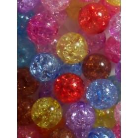 Цветни топки тип лимка- 12мм-50грама