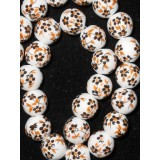 Porcelain bead- 12mm- price is for one piece
