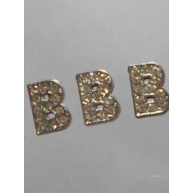 Буква-Би с камъчета- цена за 1брой
